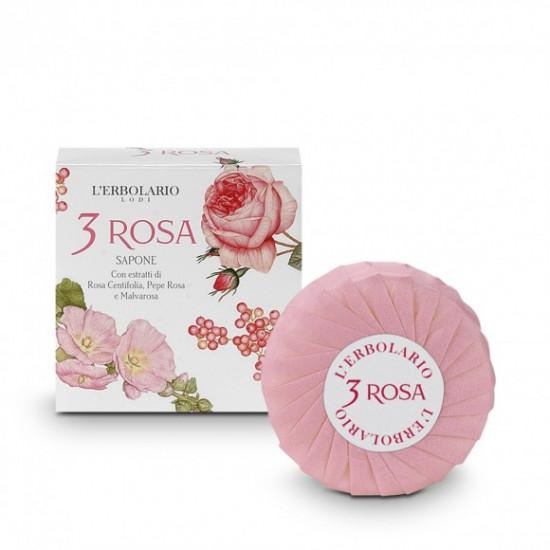 3 Rózsa illatú szappan