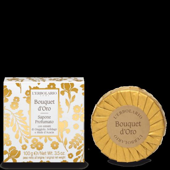 Golden Bouquet illatos szappan