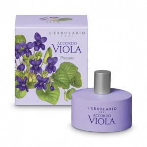 Parfüm ibolya és jázmin illattal - Accordo Viola illatú Eau de Parfum