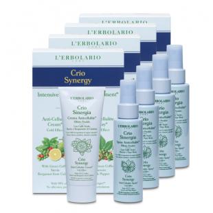 Crio Synergy kezelés - Anti-Cellulit krém és spray* 4 x 100+100 ml
